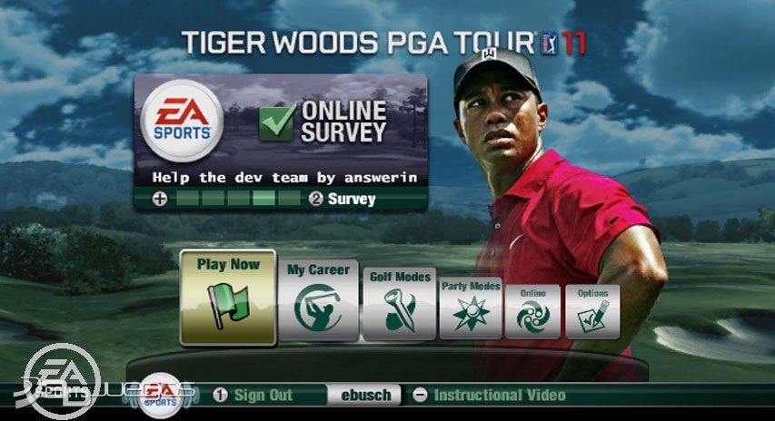 Tiger Woods Pga Tour  Walkthrough