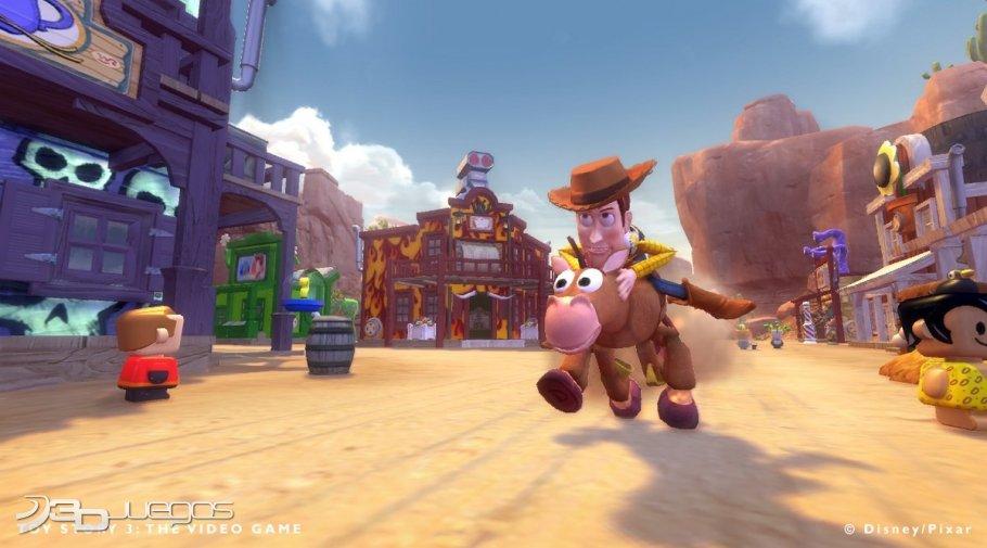 Scarecrow Toy Story 3 Game : Análisis de toy story el videojuego para ps djuegos