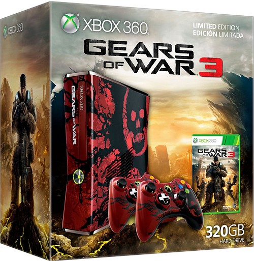 Xbox 360 Edicion Gears of War 3 (320Gb)