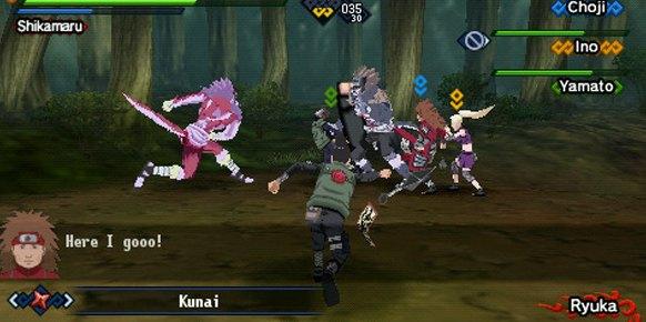 Naruto Shippuden Kizuna Drive (PSP)