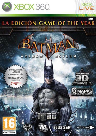 Batman Arkham Asylum GOTY Edition RIP-PROPIO RGH-JTAG PL-UL