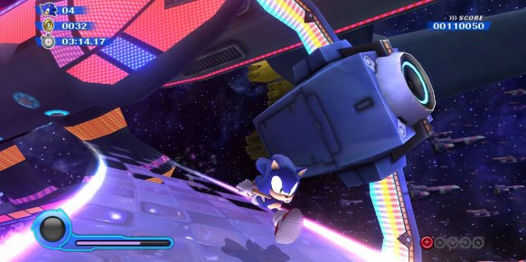 Sonic Colours an�lisis