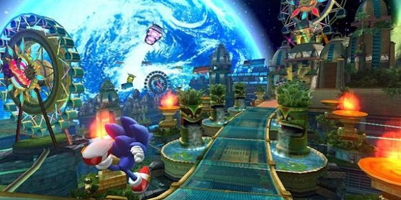 Sonic Colours: Primer contacto