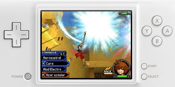 Kingdom Hearts Re Coded (Nintendo DS)