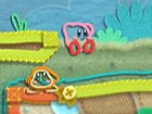 Kirby&#39;s Epic Yarn - Gameplay: Cataratas Arcoiris