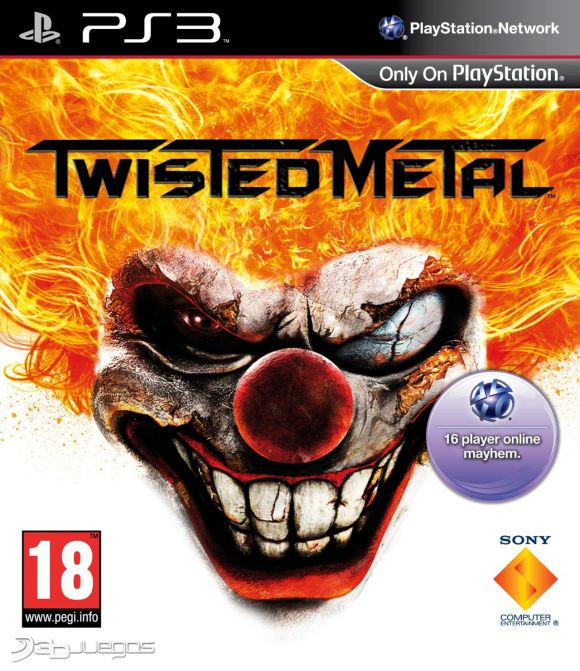 Car�tula de Twisted Metal