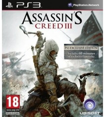 Assassin&#39;s Creed 3 para PlayStation 3 contar&aacute; con una hora de juego exclusivo