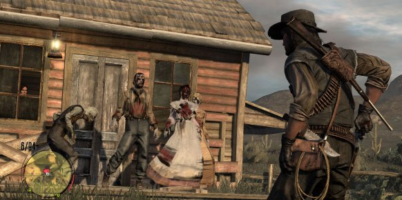 RDR Undead Nightmare (Xbox 360)