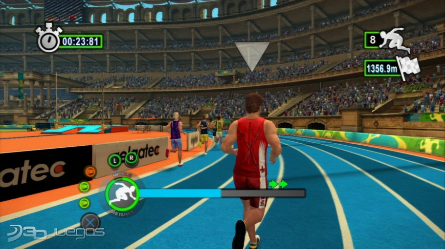 Test Summer Athletics Tournament PlayStation 3 - Screenshot 21.
