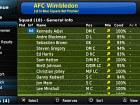 Football Manager 2011 - Pantalla