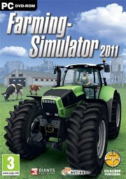 Car�tula oficial de Farming Simulator 2011 PC
