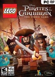 Car�tula oficial de LEGO Piratas del Caribe PC