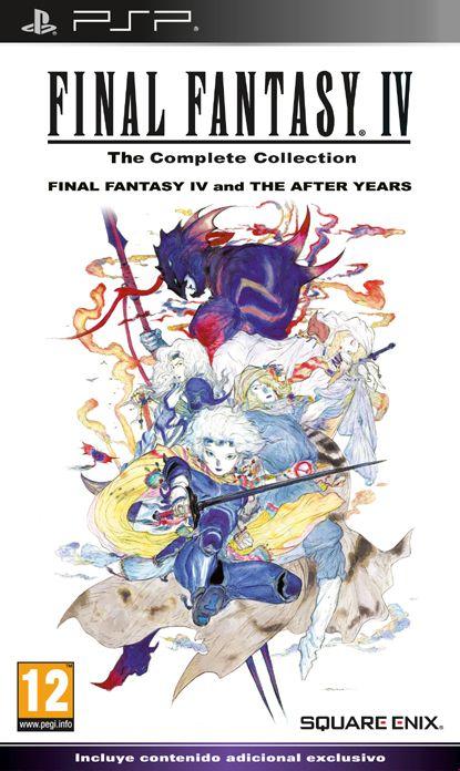 Carátula de Final Fantasy IV: Complete Collection