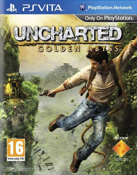 Car�tula de Uncharted: El Abismo de Oro