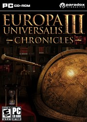 Car�tula oficial de Europa Universalis III Chronicles PC