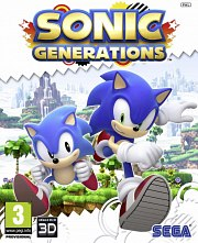 Car�tula oficial de Sonic Generations PC