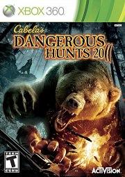 Cabelas Dangerous Hunts 2011 Xbox 360