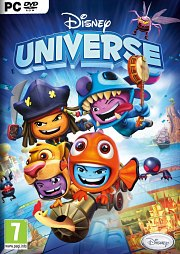 Car�tula oficial de Disney Universe PC