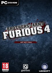 Car�tula oficial de Brothers in Arms: Furious 4 PC