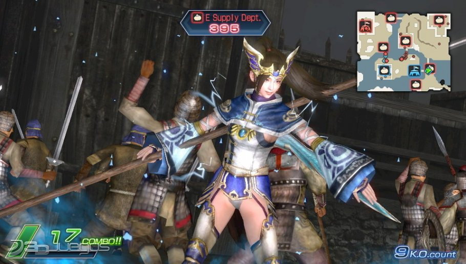 Dynasty Warriors Next - An�lisis