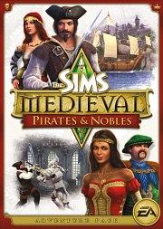 Car�tula oficial de Sims Medieval: Piratas y caballeros PC