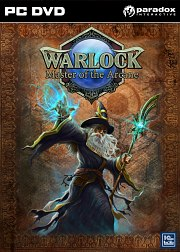 Car�tula oficial de Warlock: Masters of the Arcane PC