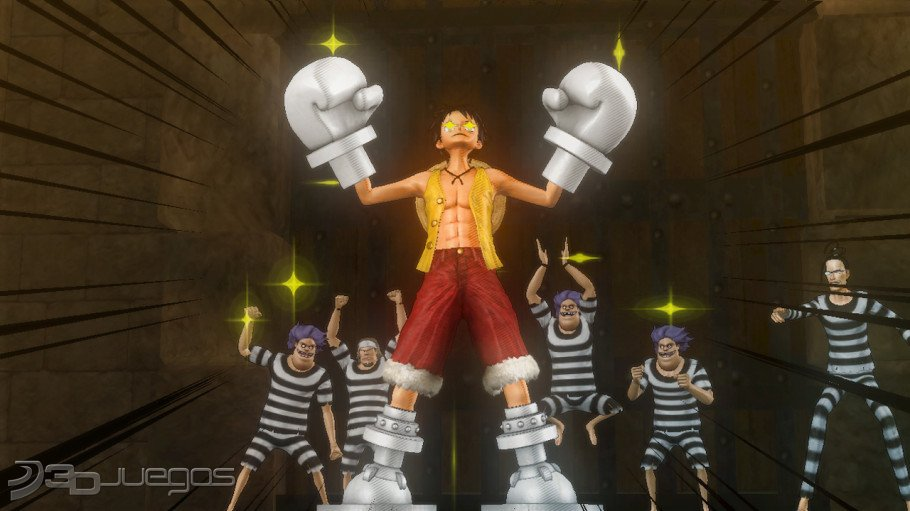 One piece pirate warriors impresiones jugables ps3 for One piece juego