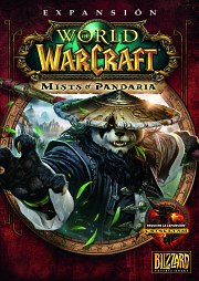 Car�tula oficial de WoW: Mists of Pandaria PC
