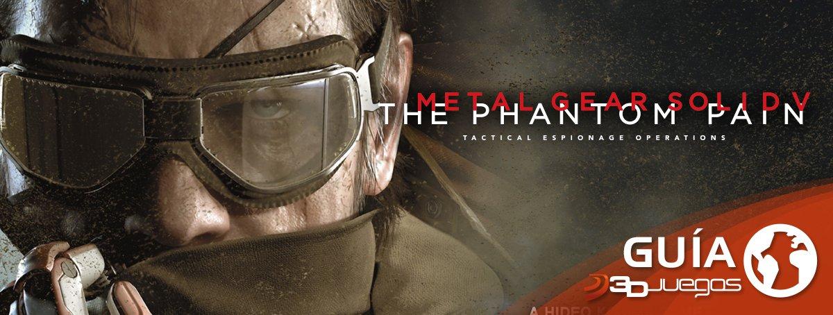 Gu�a de Metal Gear Solid V
