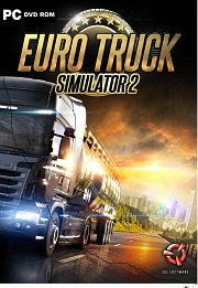 Car�tula oficial de Euro Truck Simulator 2 PC