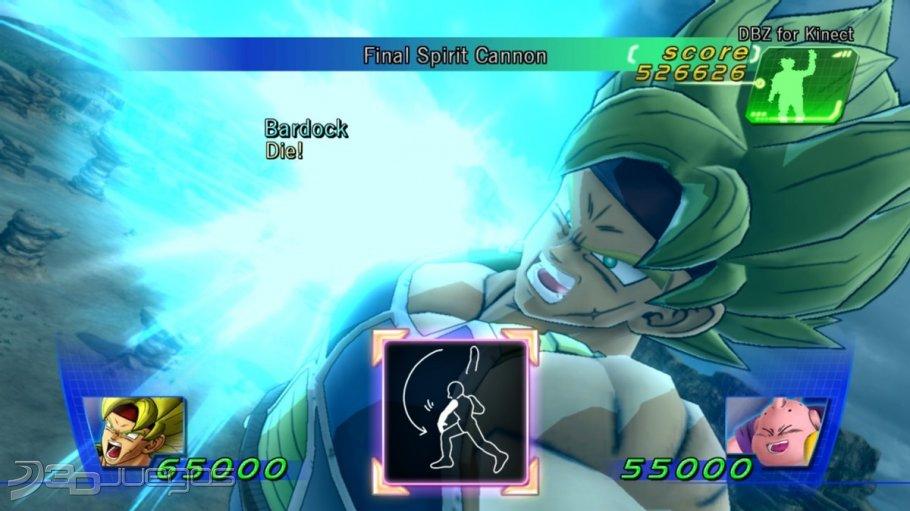 Dragon Ball Z For Kinect - (Todas las Novedades)