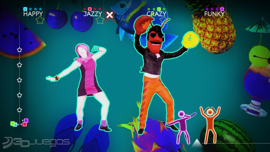 Imagenes Just Dance 4 XBOX 360