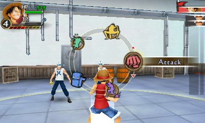 One Piece Romance Dawn (Nintendo 3DS)