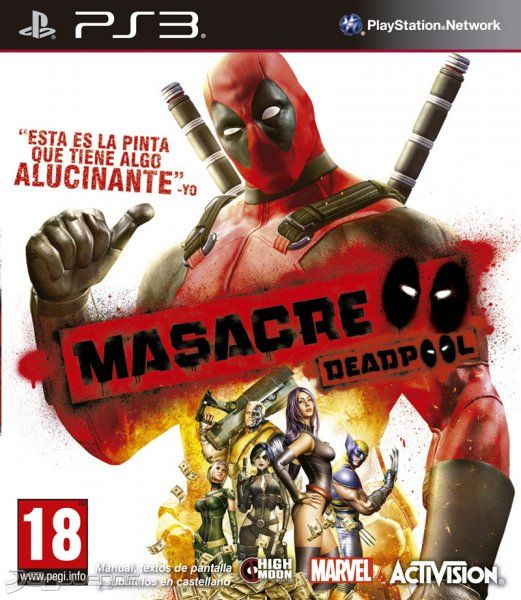 Descargar juego Deadpool para PS3