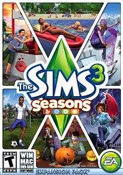 Car�tula oficial de Los Sims 3 y las Cuatro Estaciones PC