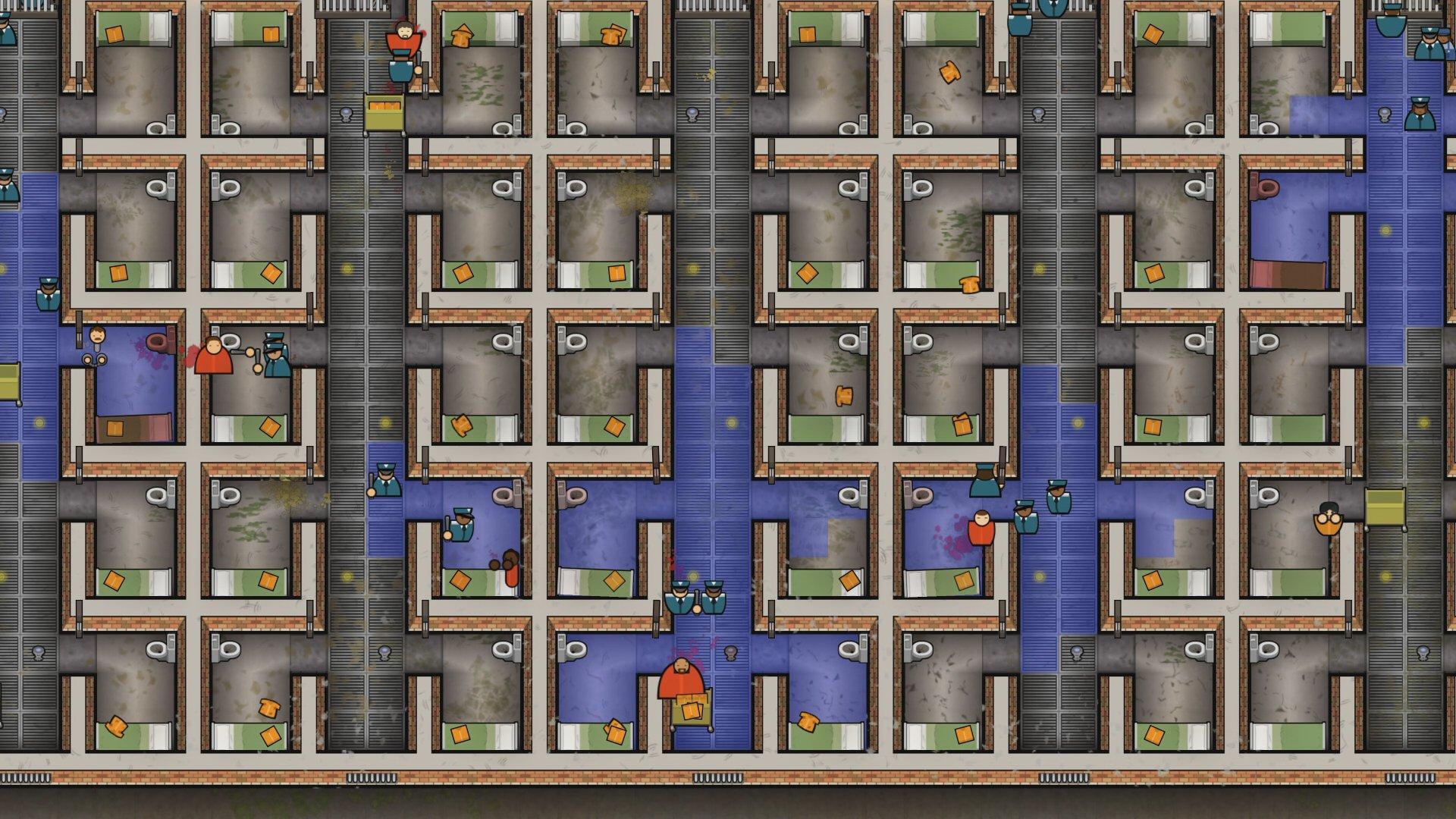 Im genes de prison architect para ps4 3djuegos for Jail architect