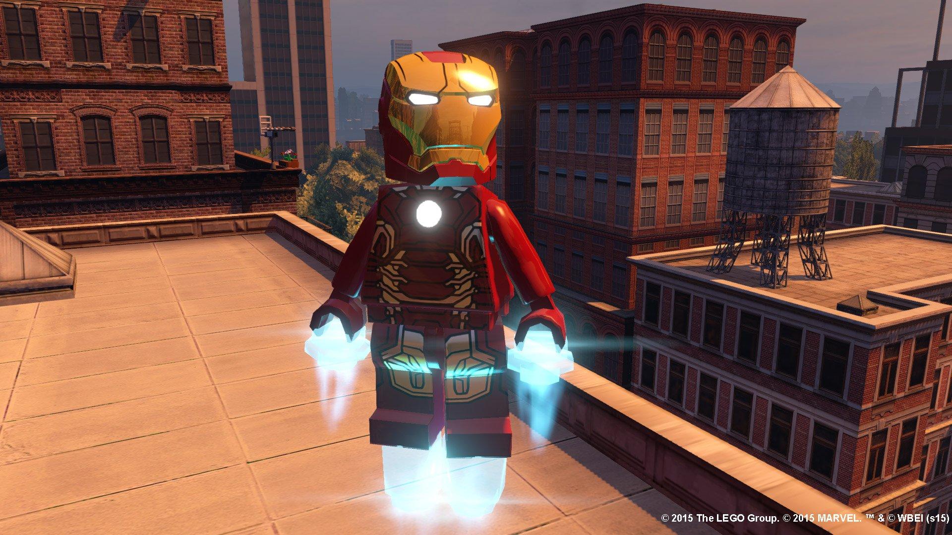 Marvel Super Heroes 60 Superhéroes: LEGO Marvel Super Heroes Para PS3