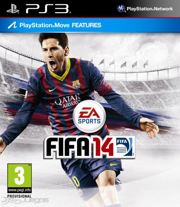 Car�tula de FIFA 14