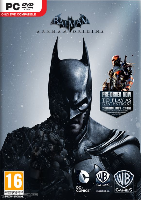 Batman Arkham Origins (Multi10) Xbox Ps3 Pc jtag rgh dvd iso Xbox360 Wii Nintendo Mac Linux