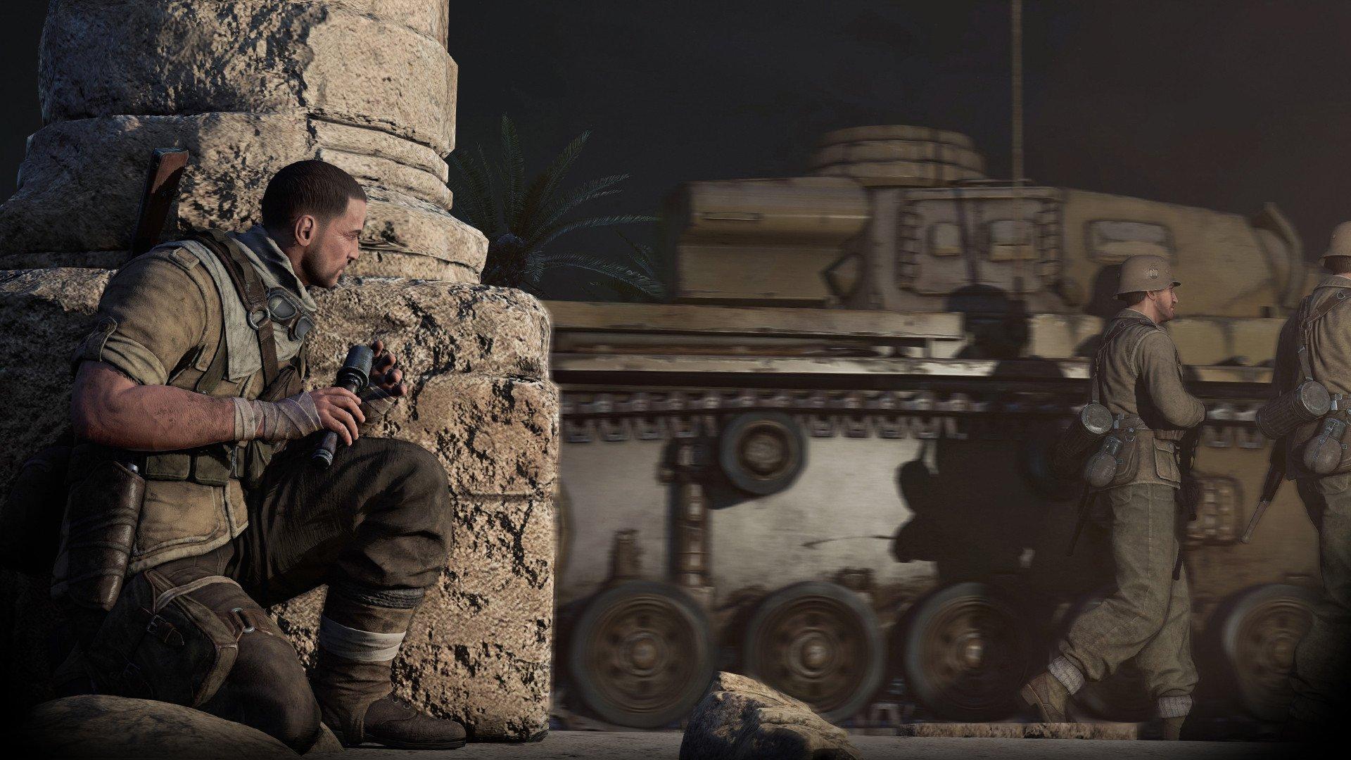 sniper elite 3 2537591 تصاویر جدیدی از Sniper Elite 3 منتشر شد : بیابان گردی در آفریقا