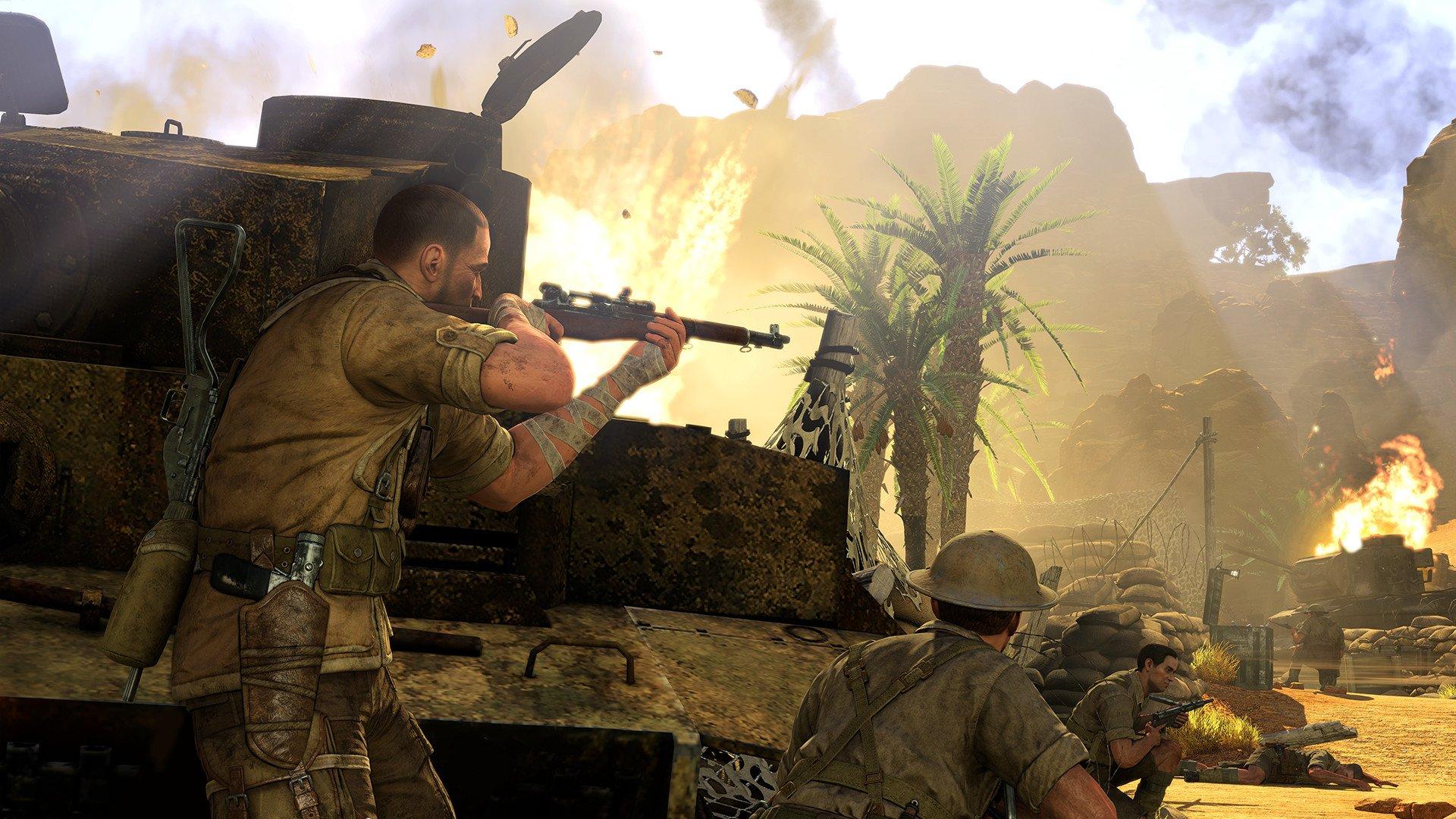 sniper elite 3 2537599 تصاویر جدیدی از Sniper Elite 3 منتشر شد : بیابان گردی در آفریقا