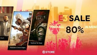 Rebajas de hasta un 80% en los juegos de Ubisoft durante el E3
