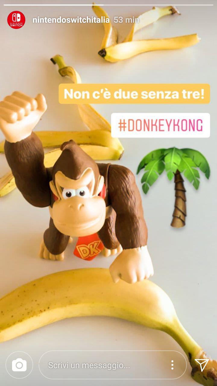 ¿Nuevo Donkey Kong en camino? Nintendo Italia así lo sugiere