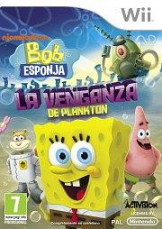 Carátula de Bob Esponja: Plankton - Wii