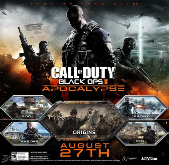 Call Of Duty 2 3ds : Call of duty black ops apocalypse para ps djuegos