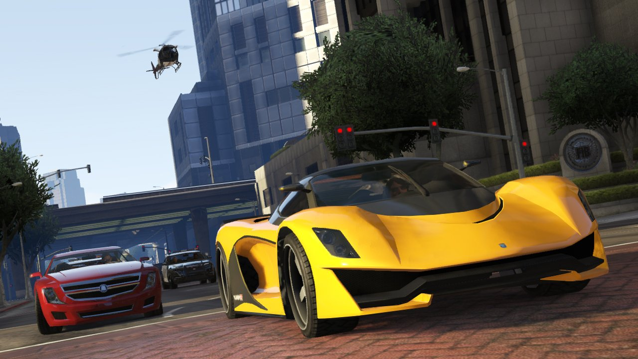 Corporate Car Online: Grand Theft Auto Online