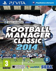 Football Manager Classic 2014 Vita