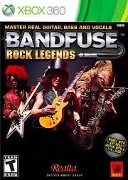 Carátula de BandFuse: Rock Legends - Xbox 360
