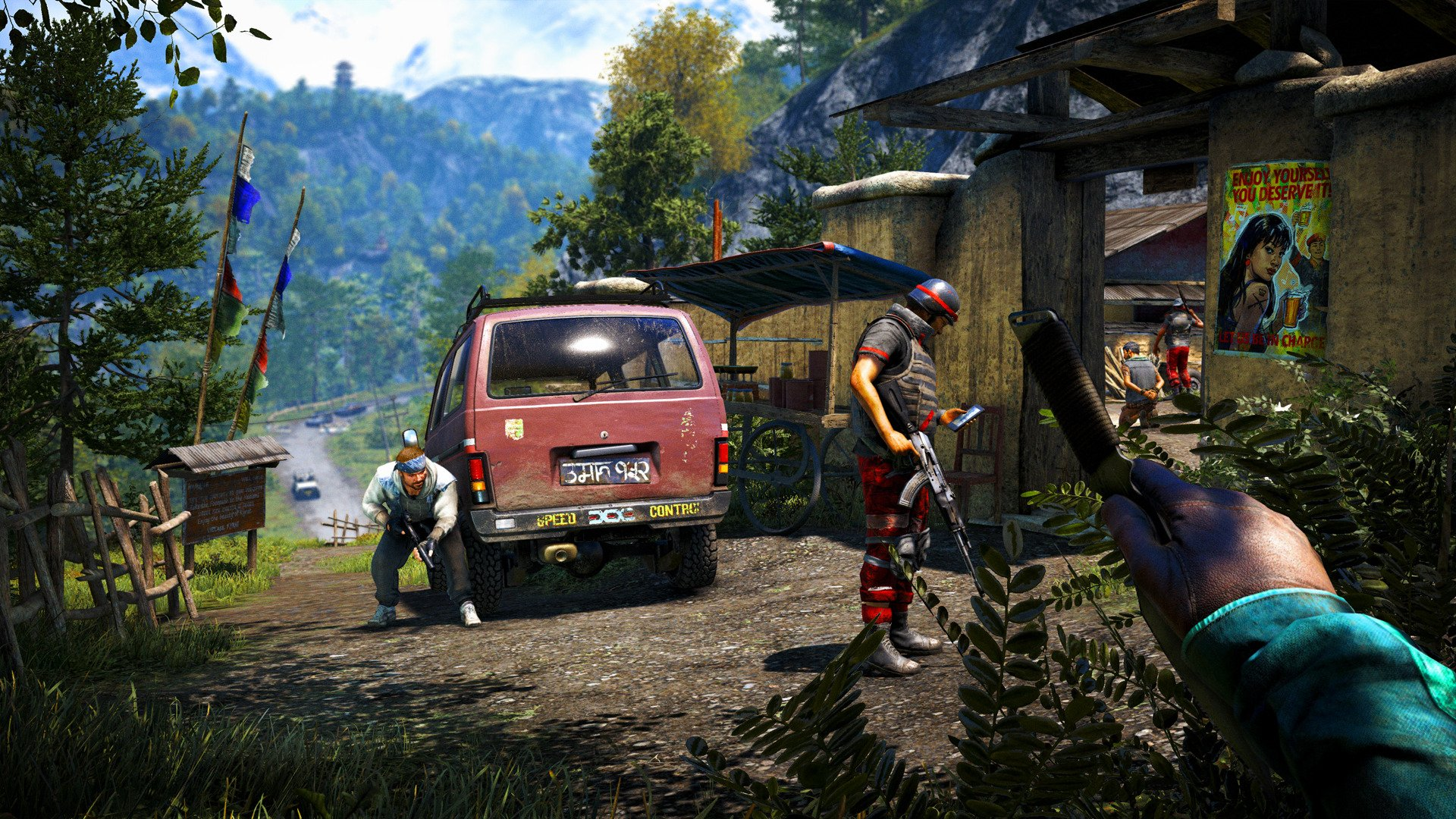 how to set mines in far cry 4
