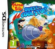 Carátula de Phineas y Ferb: Quest Cool Stuff - DS